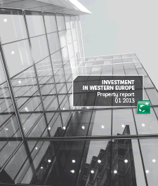 Investment in Western Europe Q1 2013