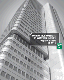 Main Office Markets in Western Europe Q1 2013