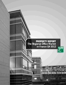 """The Regional Office Market in France, Q4 2012"" "" report prepared by BNP Paribas Real Estate was published."
