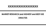 Index of High and Best Use Analysis Report