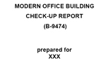 Index of Office Check-up Report